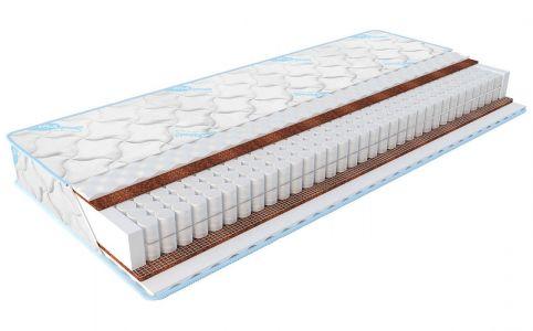 Матрац ортопедичний пружинний ЕММ Sleep&Fly Екстра Жаккард 120x200 см, висота 22 см (жорсткий)