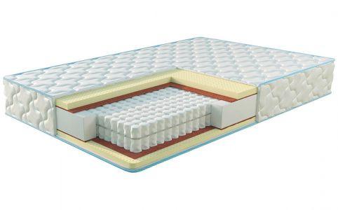 Матрац Sleep&Fly Екстра Латекс Жаккард 80x190 см, висота 23 см (помірно-жорсткий)