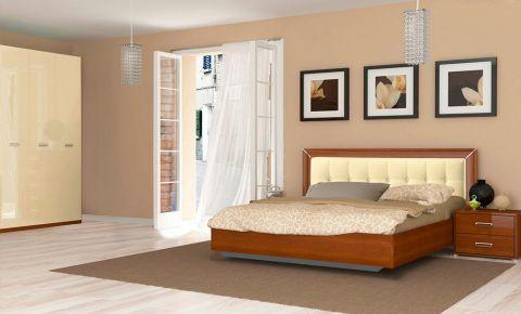 Фото Спальня «Белла рамка» (М) №559846 Глянец ваниль - sofino.ua