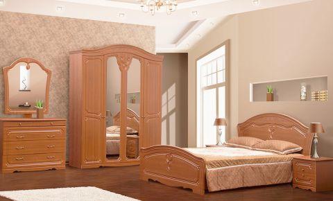 Спальня «Луиза» дуб рустикаль