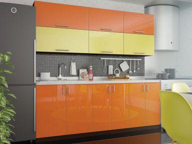 Фото Кухня прямая «Колор-микс - коллекция №560068» - sofino.ua