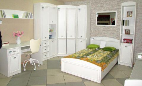 Фото Спальня «Салерно №4» Белый - sofino.ua