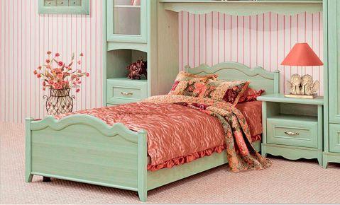 Фото Кровать детская «Селина» ольха зеленая - sofino.ua