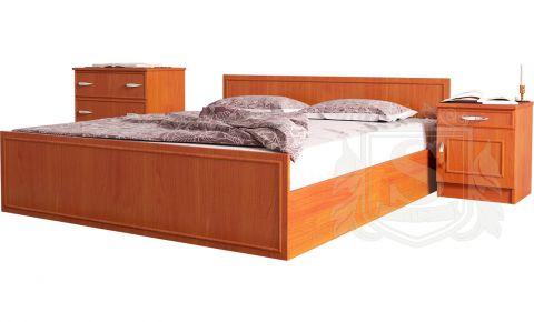 Фото Кровать двуспальная «Ким» Яблоня - sofino.ua