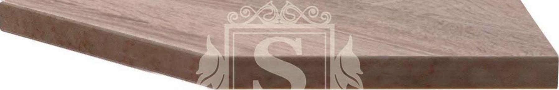 Фото Столешница угловая «Дуб сонома» 180 см | 28 мм - sofino.ua