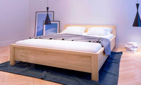 Фото Кровать двуспальная «Каспиан» | Дуб сонома - sofino.ua