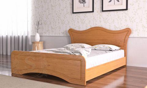 Фото Кровать «Ангелина» ольха - sofino.ua