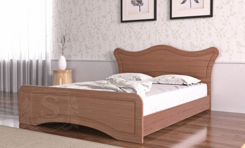 Фото Кровать «Ангелина» орех лесной - sofino.ua