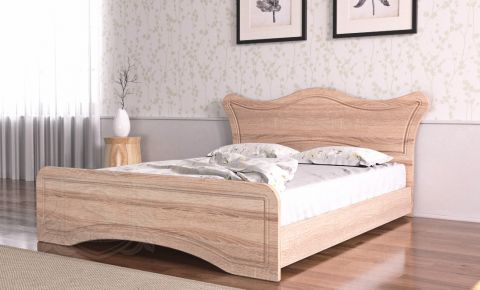 Фото Кровать «Ангелина» дуб сонома - sofino.ua