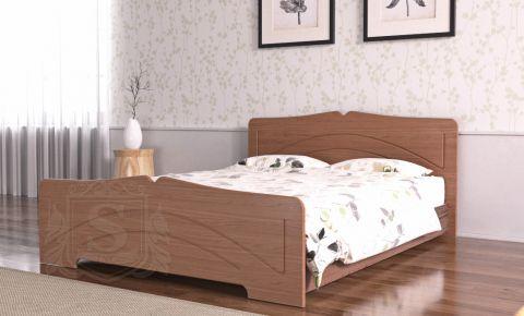 Фото Кровать «Гера» орех лесной - sofino.ua