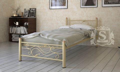 Фото Кровать односпальная «Азуми» бежевая - sofino.ua