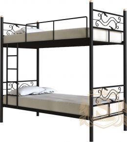 Фото Кровать двухъярусная «Кидо» черная - sofino.ua
