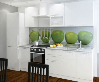 Фото Кухня  «Колор-микс» №594955 Белый  - sofino.ua