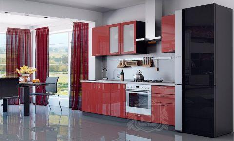 Фото Кухня  «Колор-микс» №595775 Красный - sofino.ua
