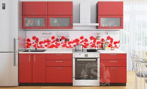Фото Кухня  «Колор-микс» №595780 Красный - sofino.ua