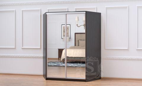 Фото Угловой шкаф-купе 2 двери «Софино Премиум» Зеркало + Зеркало - sofino.ua