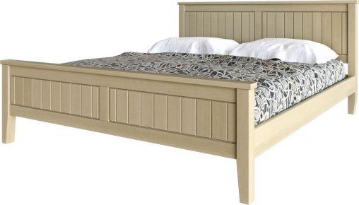 Фото Кровать деревянная «Глория» Дубовый Шпон - sofino.ua