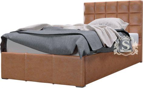 Фото Кровать «Гера» 90*200 с каркасом рогожка Etna- AR 023 / Подъемный механизм/Усиленные ламели (21 ламе - sofino.ua