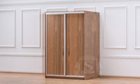 Угловой шкаф-купе 2 двери «Софино Премиум» ДСП + ДСП