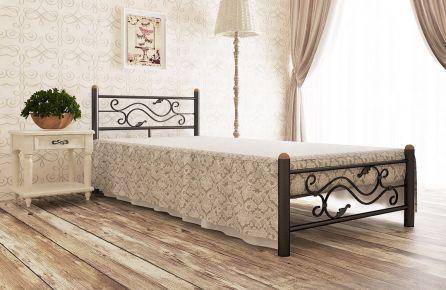 Фото Кровать металлическая «Соната» - sofino.ua