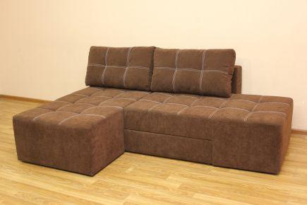Базовый диван «Бруклин» меган шоко- 1 мех. Ножницы 202х162 (1 кат.)