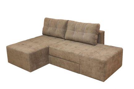 Базовый диван «Бруклин» меган шоко мех. Ножницы 202х162 (1 кат.)