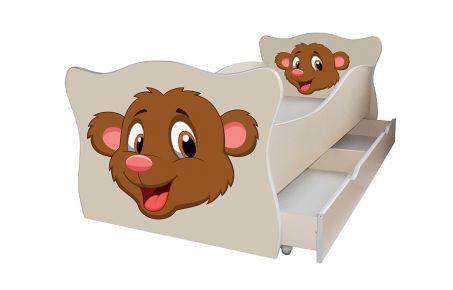 Кровать детская «Animal 3» 70*140