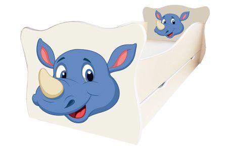 Кровать детская «Animal 6» 70*140