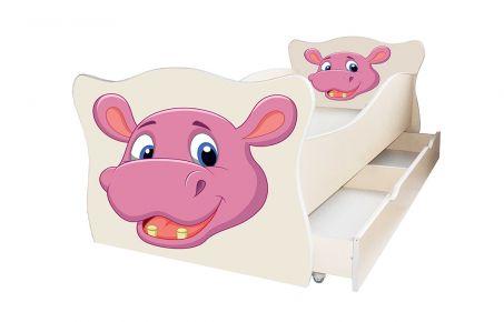 Кровать детская «Animal 8» 70*140