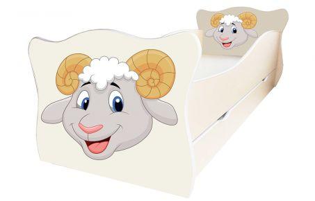 Кровать детская «Animal 12» 70*140