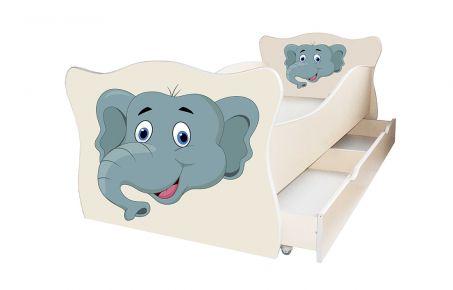 Кровать детская «Animal 13» 70*140