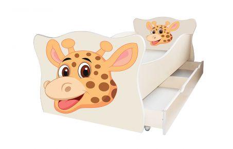 Кровать детская «Animal 14» 70*140