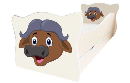 Кровать детская «Animal 17» 70*140