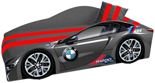 Кровать детская «Элит Е-1 | BMW Black»