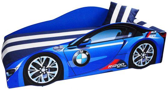 Кровать детская «Элит Е-1 | BMW Blue»
