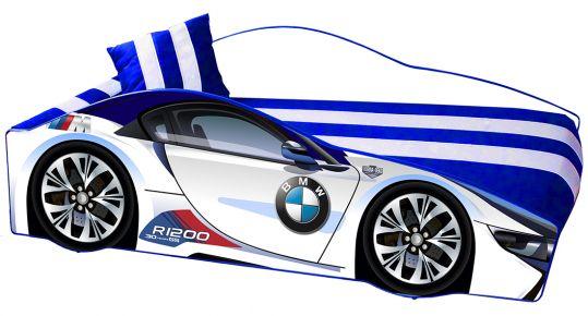 Кровать детская «Элит Е-1 | BMW White»