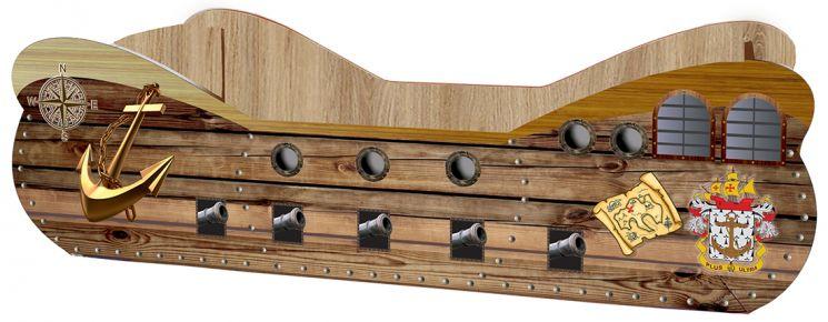 Кровать детская «Корабль | КР-0004» 80*160