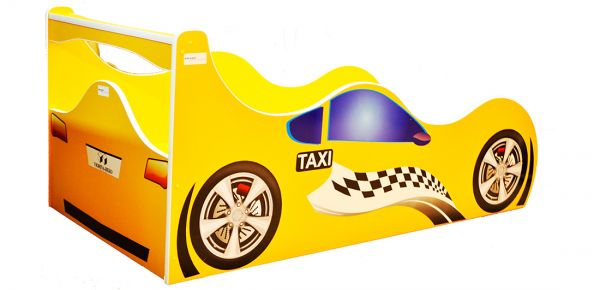 Кровать детская «Форсаж Ф-0006 | Taxi» 70*140