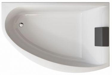 Ванна ассиметричная XWA3370001 «Mirra» + подголовник 170*110 P