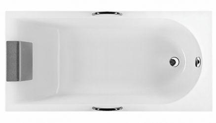 Ванна Прямоугольная XWP3340001 «Mirra» + подголовни 140*70