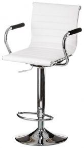 Барный стул «Bar white plate»