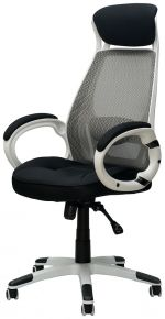 Кресло офисное «Briz black/white»