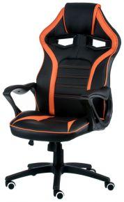Кресло офисное «Game black/orange»