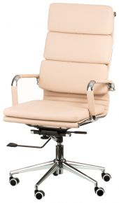 Кресло офисное «Solano 2 artleather beige»