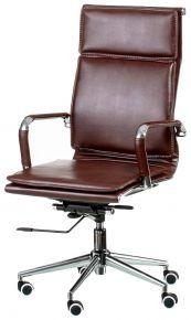 Кресло офисное «Solano 4 artleather brown»
