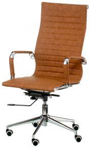 Кресло офисное «Solano artleather light-brown»