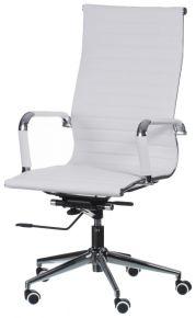Кресло офисное «Solano artleather white»