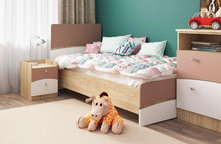 Фото Кровать детская «Капучино» Феникс            - sofino.ua