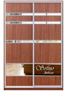 Фото Шкаф-купе 2 двери «Софино Премиум» 221 + 221 - sofino.ua