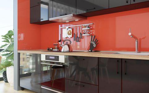 Фото Кухня «М. Глосс» №638416 Блек - sofino.ua